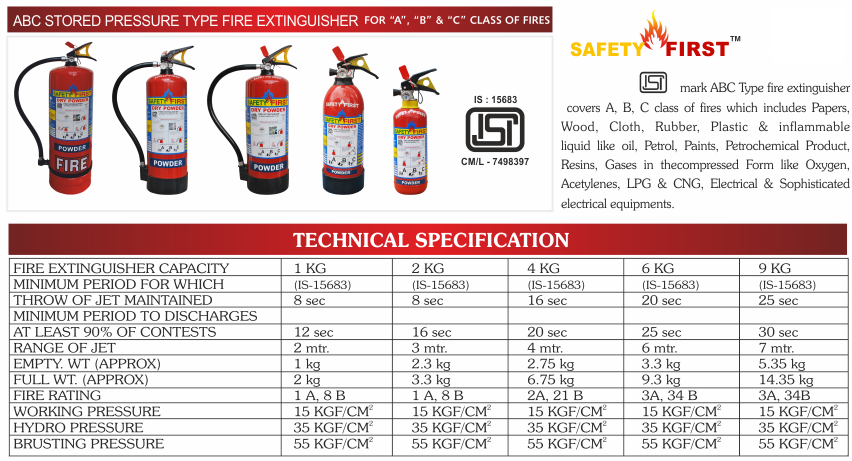 Fire Extinguishers Safety Belt Shower Full Body Harness